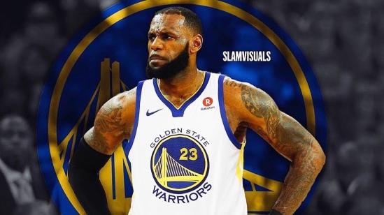 8257ccf54 LeBron James Ain t Going To Golden State